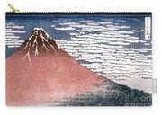 Hokusai: Fuji Carry-all Pouch