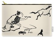 Hokusai: Horse, C1814 Carry-all Pouch