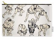 Hokusai: Sumo Carry-all Pouch