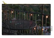 Holiday Deck At Dusk Carry-all Pouch