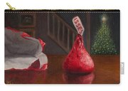 Holiday Kiss Carry-all Pouch by Joe Winkler