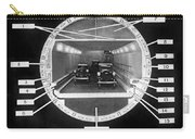 Holland Tunnel Section View Carry-all Pouch