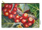 Holly Barries Carry-all Pouch