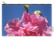 Hollyhock Ruffles Carry-all Pouch