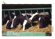 Holstein Dairy Cows Carry-all Pouch by Photo Researchers
