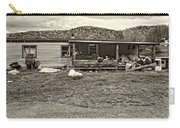 Home Sweet Home Sepia Carry-all Pouch