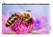 Honey Bee  Carry-all Pouch by Elena Elisseeva