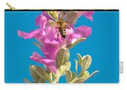 Honey Bees On Sage 1 Carry-all Pouch