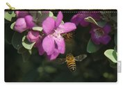 Honey Bees On Sage 3 Carry-all Pouch