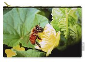 Honeybee And Cantalope Carry-all Pouch