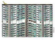 Hong Kong Residential Building Carry-all Pouch