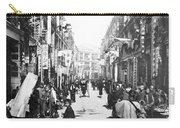 Hong Kong Vintage Street Scene - C 1902 Carry-all Pouch
