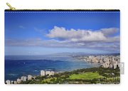 Honolulu From Diamond Head Carry-all Pouch