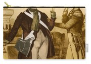 Honore De Balzac, French Author Carry-all Pouch by Photo Researchers