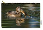 Hooded Merganser And Bullfrog Carry-all Pouch