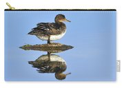 Hooded Merganser Reflection Carry-all Pouch