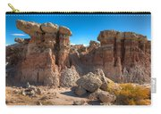 Hoodoos At Gooseberry Desert Wyoming Carry-all Pouch