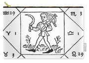 Horoscope Types, Engel, 1488 Carry-all Pouch by Science Source