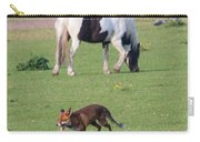 Horse And Fox Carry-all Pouch