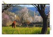 Horse At Field Carry-all Pouch