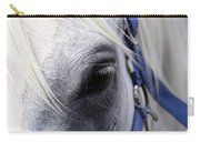 Horse At Mule Day Benson Carry-all Pouch
