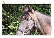 Horse At Mule Day In Benson Carry-all Pouch
