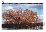 Horse Barn Hill In Autumn Carry-all Pouch