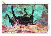 Horse Born Of Earth Water Sky Carry-all Pouch by Carol Law Conklin