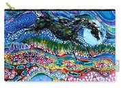 Horse Born Of Moon Energy Carry-all Pouch by Carol Law Conklin