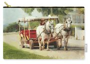 Horse Carriage Mackinac Island Michigan Carry-all Pouch
