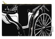 Horse Drawn Carriage Antique Carry-all Pouch