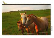 Horse Family Soft N Sweet Carry-all Pouch