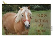 Horse Friend Birthday Carry-all Pouch