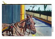 Horse In Malate Carry-all Pouch