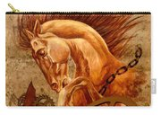 Horse Jewels Carry-all Pouch by Lena Day