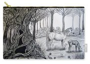Horse Meadow Carry-all Pouch