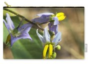 Horse Nettle Nightshade - Solanum Carolinense Carry-all Pouch