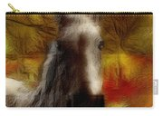 Horse On The Farm Carry-all Pouch