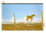Horse Pasture Revblue Carry-all Pouch