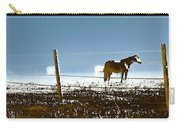 Horse Pasture Revdkblue Carry-all Pouch