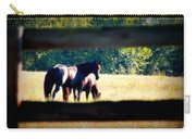 Horse Photography Carry-all Pouch