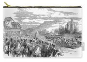 Horse Racing, 1850 Carry-all Pouch