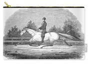 Horse Racing, 1851 Carry-all Pouch