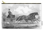 Horse Racing, 1862 Carry-all Pouch