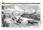 Horse Racing, 1870 Carry-all Pouch