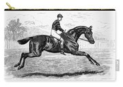 Horse Racing, 1880s Carry-all Pouch by Granger
