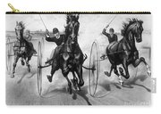 Horse Racing, 1890 Carry-all Pouch