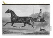 Horse Racing, C1850 Carry-all Pouch