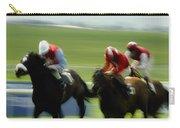 Horse Racing, Ireland Jockeys Racing Carry-all Pouch