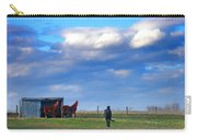 Horse Ranch Landscape Carry-all Pouch